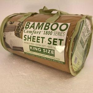 Bamboo Comfort 1800 Series Sheet Set King